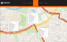 Hradec Králové in Královéhradecký on CoPilot map in detail view