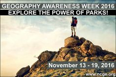 Find lots of great Geography Awareness Week 2016 resources here!