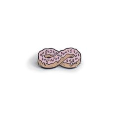 HOME :: Pins & Patches :: LAPEL PINS :: ETERNAL LOVE DONUT PIN