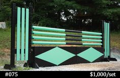Horse Jump Poles Virginia | Old Dominion Horse Jump Company |