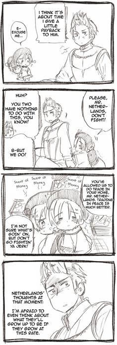 ((Netherlands and Chibi Italy (North and South)