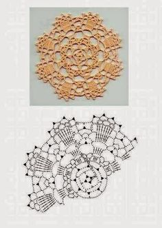 CANTINHO DA ARTE - MEUS TRABALHOS: Squares e rosetas de croche