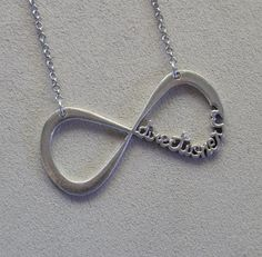 One Direction inspired, Directioner Infinity Charm Pendant Necklace #OneDirection #Directioner #infinity