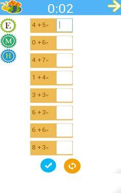 Kids Addition Worksheets - dodawanie w zakresie 100 podzielone na stopnie trudności, zadania z okienkami