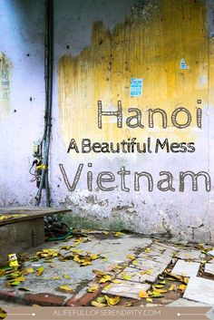 These photographs will make you want to travel to Hanoi, Vietnam. I personally preferred Hanoi to Ho Chi Minh City (formerly Saigon) for many reasons. Hanoi reminded me of other grungy artsy cities I love so much: Budapest, Berlin, Melbourne...give me some broken walls, colour here and there and I'm in my element of capturing 'a beautiful mess'.