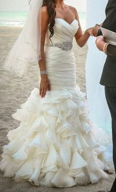 Maggie Sottero DIVINA, find it on PreOwnedWeddingDresses.com