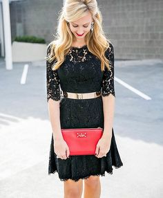 Taking my LBD up a notch with my favorite metal belt. This dress comes in seven colors. Check out my dupe for the Valentino Rockstuds! My red clutch is also on sale❤️✔️ Shop my complete look through the direct link in profile or this link of you have liketoknow.it http://liketk.it/2pOFk @liketoknow.it #liketkit 📷 @snapshotsandmythoughts . . . . . #holiday #LBD #dress #christmasdress #holidaystyle #christmas #photosinbetween #postthepeople #makeportraits #winter #winterstyle #mylook…