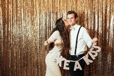 What better way to start your new life (and the new year) than with a New Years Eve wedding that totally rocks? It's the perfect opportunity to gather all y