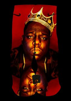 Biggie Crown Custom Nike Elite Socks by EliteHeadquarters on Etsy, $24.99