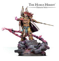 Warhammer - Magnus The Red Primarch Thousand Sons - Marine Horus Heresy Warhammer Models, Warhammer 40000, Warhammer Fantasy, Thousand Sons, The Horus Heresy, Model Supplies, Space Wolves, Warhammer 40k Miniatures, Scribe