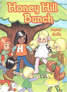Honey Hill Bunch Paper Dolls