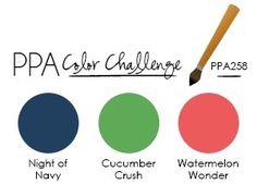 The Latest Pals Paper Arts Color Challenge