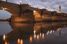Puente de Piedra (Zaragoza) by Miguel Moreno Dobato on 500px