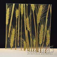 Wheat,Deco Nature,DECO PANEL,DECO DECO,resin panel,architectural panel, translucent resin panel, decorative panel, laminated resin panel,