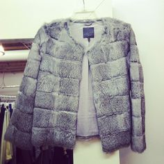 Tons of new arrivals on Joie.com including this super soft fur number!