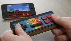 The iCADE, play classic games with a vintage controller on your phone!