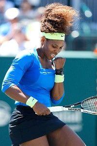Slammin' Sammy slammed by Serena in Charleston