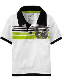 Chest-Stripe Applique Rugbys for Baby | Old Navy