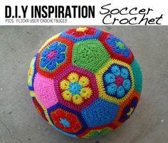 Soccer crochet