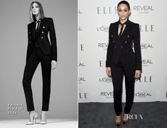 Emmy Rossum In Versace - Elle's 21st Annual Women In Hollywood Celebration
