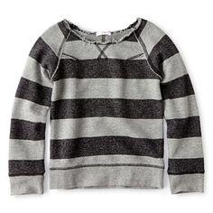 Joe Fresh™ Long-Sleeve Striped Top - Girls 1t-5t - jcpenney