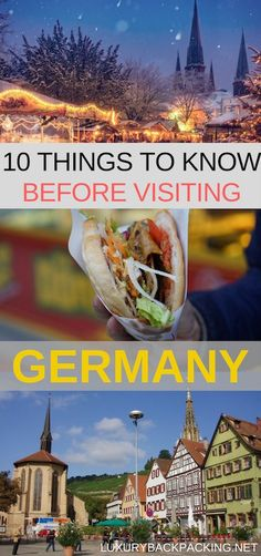10 Things To Know Before Visiting Germany. From waiting for the Green Man to sitting down when you pee. Make sure to read this post before you visit.