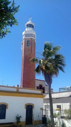 To the Lighthouse Fishing Villages, Andalucia, Lighthouse, Rio, Building, Travel, Bahia, Bell Rock Lighthouse, Light House