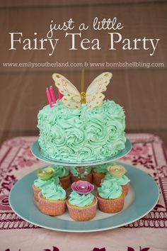 I love this darling fairy tea party for little girls!