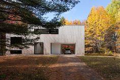 la SHED architecture completes cedar-clad maison terrebonne in montreal