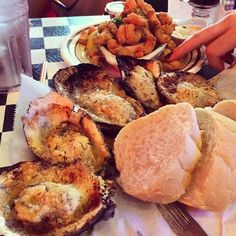 Check Out Acme Oyster House in New Orleans, LA as seen on Man vs Food and featured on TVFoodMaps. Known for This episode's challenge was to finish 15 dozen oysters at Acme Oyster House and join the