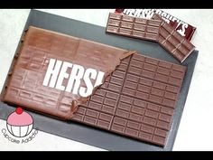 GIANT HERSHEY BAR CAKE! Make a Huge Chocolate Bar Cake with Cupcake Addiction