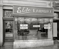 Vintage Laundromat by Mindy Sommers Laundry Doors, Laundry Art, Laundry Drying, Clean And Press, Vintage Laundry, Laundry Service, Antique Photos, High Resolution Photos, General Store