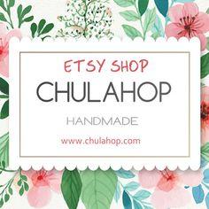 Complementos únicos hechos a mano por Chulahop en Etsy