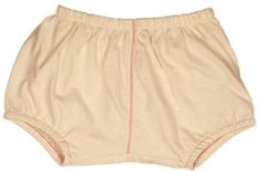 TwOOwls Natural/Pink Baby Bloomers 12-18-100% organic cotton TwOOwls. $20.00