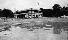 Balneário do Ajuricaba Grêmio do Porto (AGREPO), localizado na avenida Efigênio Salles (antiga Estrada do V-8), na zona Centro-Sul de Manaus, inauguradas em 1966. Acervo: Moacir Andrade.