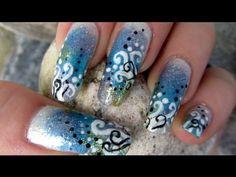 Mermaid Nail Art & Make-Up Tutorial Collaboration