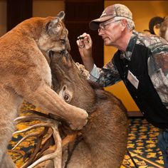 Conventional Wisdom: World Taxidermy & Fish Carving Championships