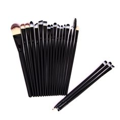 Essential Eye Makeup Brushes (20pc-set), 53% discount @ PatPat Mom Baby Shopping App
