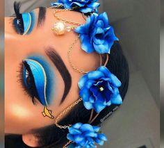 21 Stunning Makeup Looks for Green Eyes - Makeup Products Fenty Disney Eye Makeup, Eye Makeup Art, Colorful Eye Makeup, Makeup Eye Looks, Crazy Makeup, Cute Makeup, Pretty Makeup, Disney Inspired Makeup, Horror Makeup