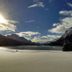 First Instagram impressions from the Engadin St. Moritz