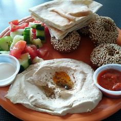 Falafel Plate @ Palmyra