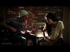 Titanium (Cover) - Us - YouTube Ok last one of these two. GAH their covers are incredible. This and Don't You Worry Child... And more. LISTEN.