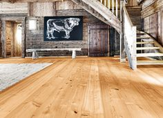 Mafi Oak Molto Brushed White Oil floors selected for Deb Hutton's stunning beachside abode Natural Wood Flooring, Timber Flooring, Hardwood Floors, Brisbane, Melbourne, Penthouse Apartment, Timber Wood, Wide Plank, Wood Planks