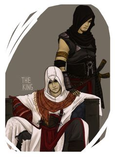 And Altair and Malik AU image but I could see it as Jalen and Kadar :D
