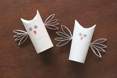 How-to: Draw a cartoon owl face on the body tube, and you've got yourself an owl