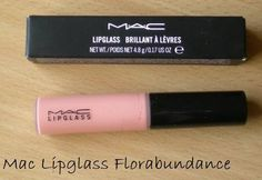 MAC Florabundance Lipglass - the absolute perfect nude. LOVELOVELOVE
