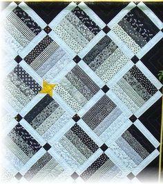 Bildergebnis für schwarz weiß quilt