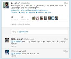 Microsoft's Windows Phone Leader Joe Belfiore has unintentionally generated some drama over the week-end as he sent a Tweet from an Android smartphone on his way from Finland back to the USA. He was tweeting about a budget Nokia phone [...]