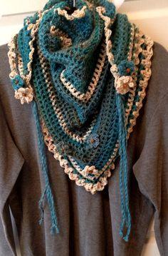 """My """"Road trip"""" scarf"""