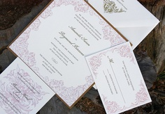 flourish letterpress
